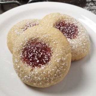 best strawberry thumbprint cookies