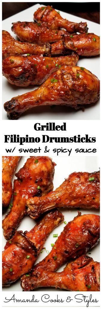 PINTEREST GRILLED FILIPINO DRUMSTICKS