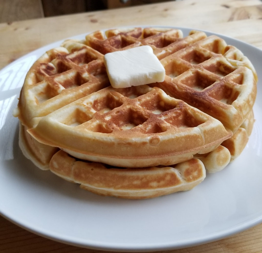 Homemade Belgian Waffles   Amanda Cooks