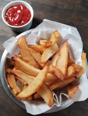 crispy french fry recipe