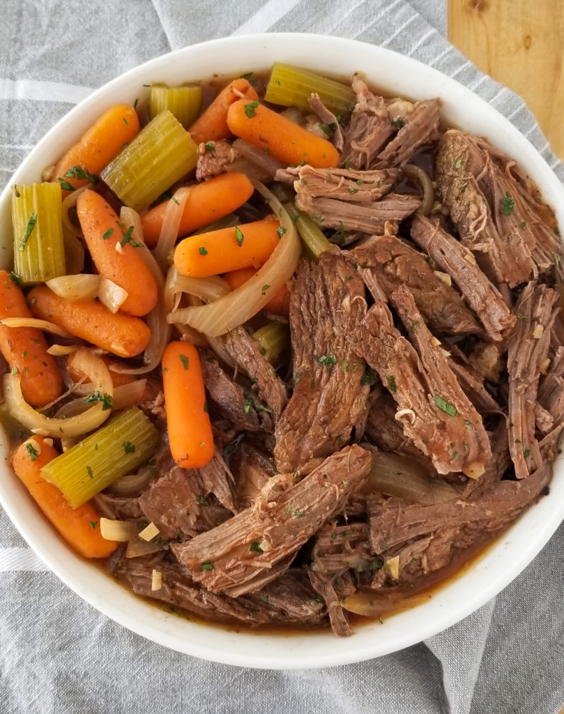 crockpot pot roast recipe