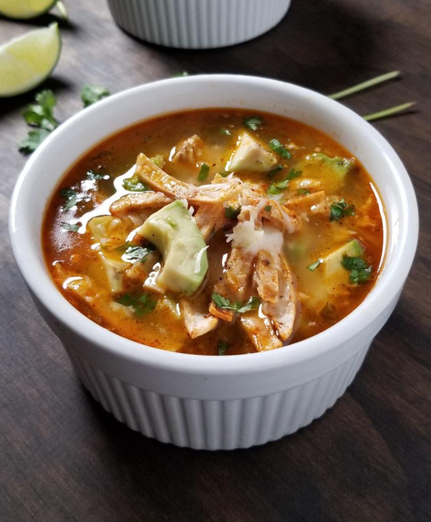 best chicken tortila soup