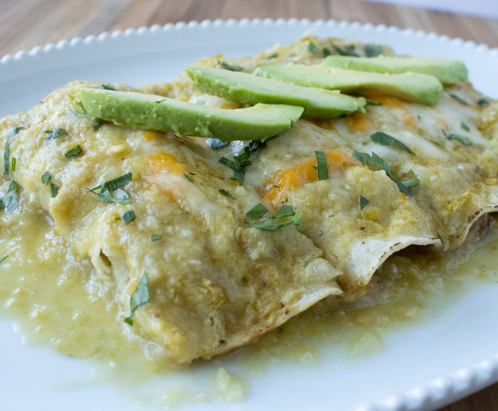 Green Chile Chicken Enchiladas Amanda Cooks Styles