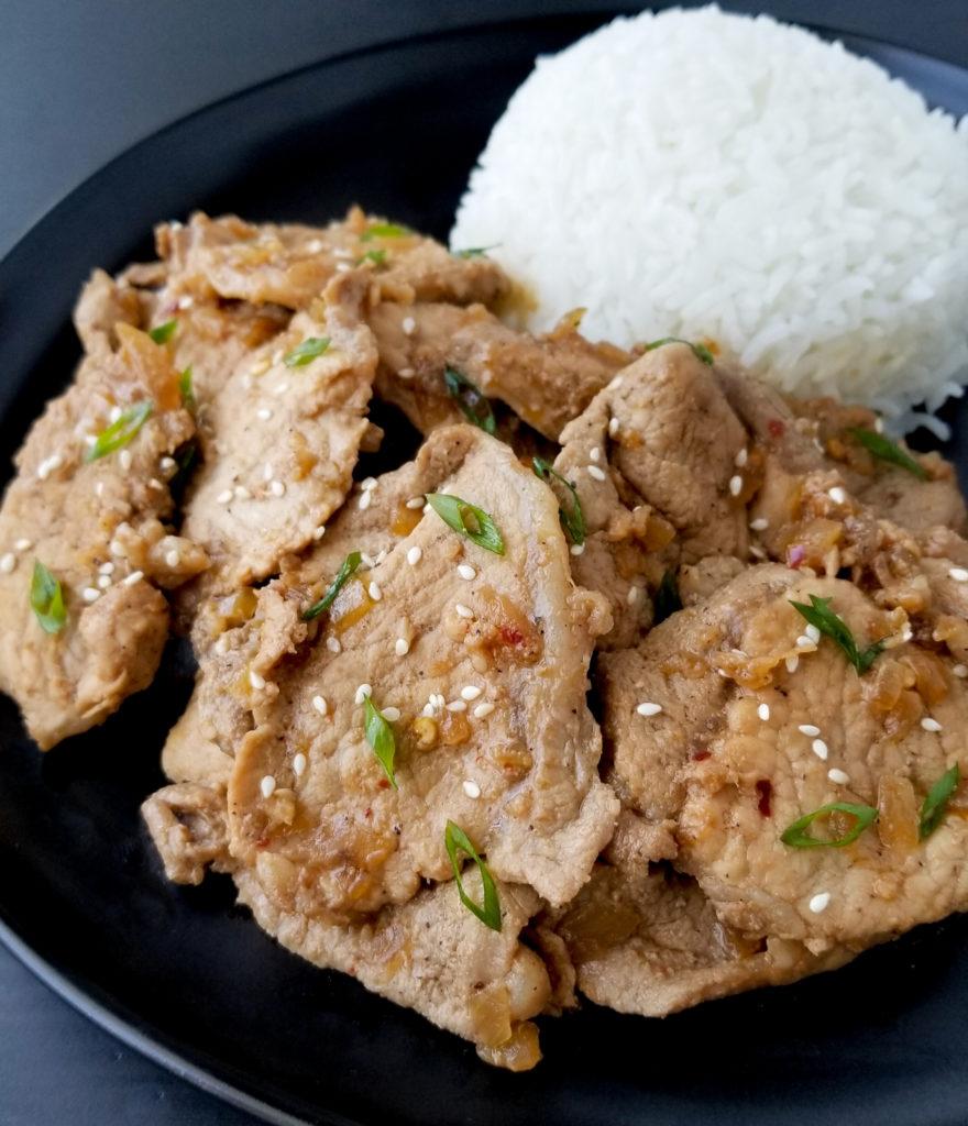 korean pork recipe