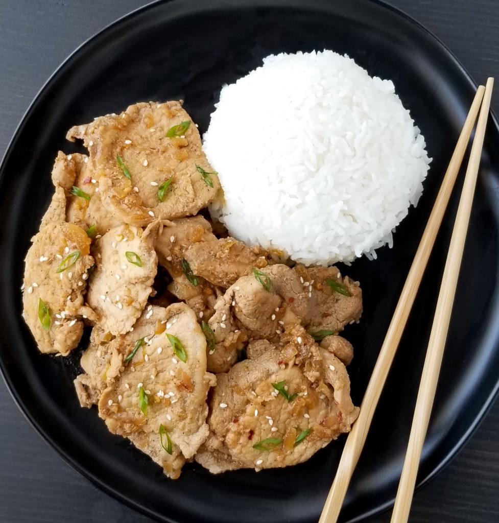 asian pork recipe