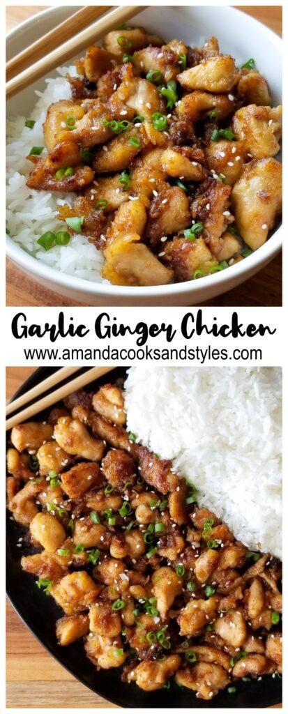 pinterest garlic ginger chicken