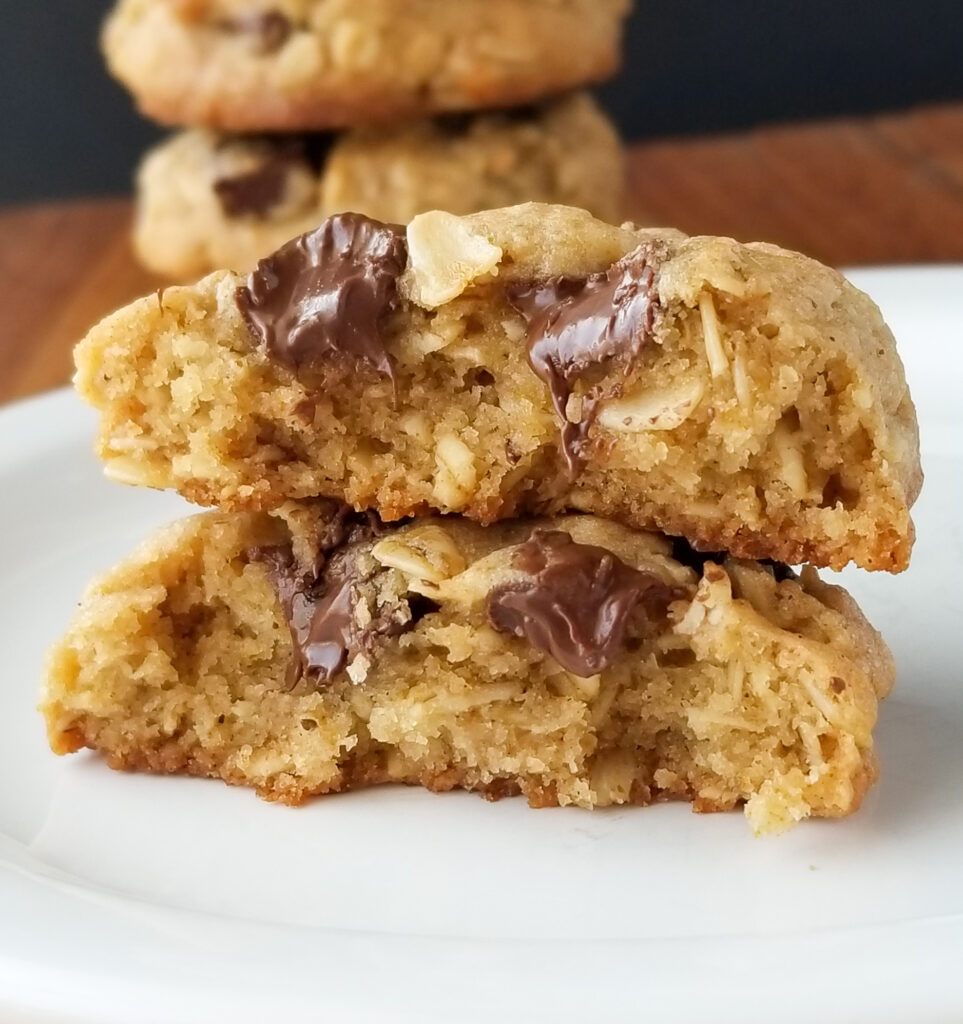 thick chewy bakery oatmeal cookies