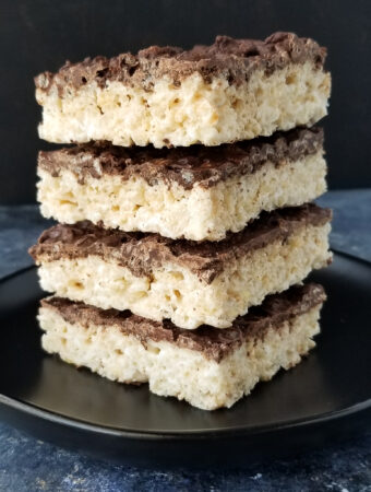 chocolate rice crispy treats