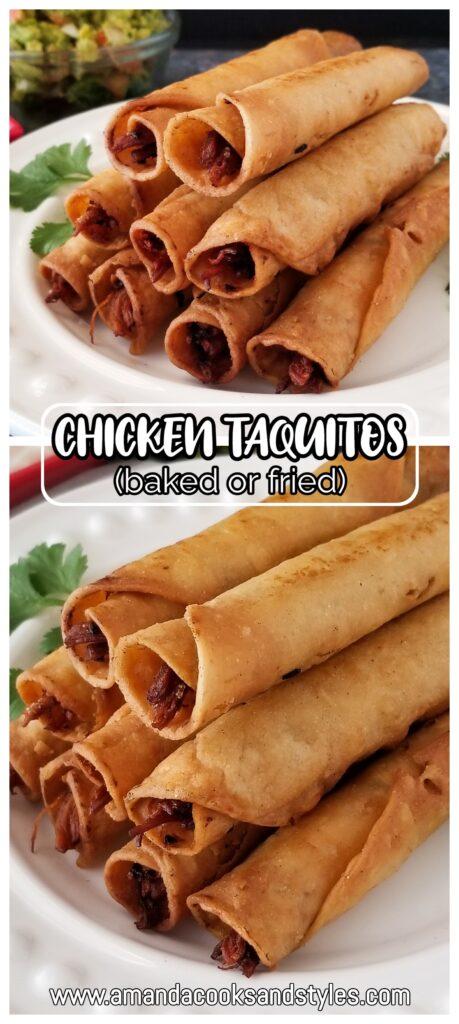 chicken taquito recipe