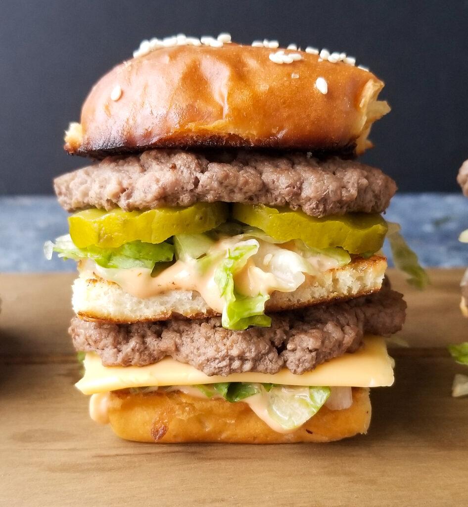 big mac slider recipe