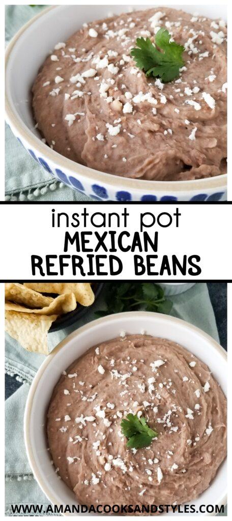 Instant Pot Mexican Beans