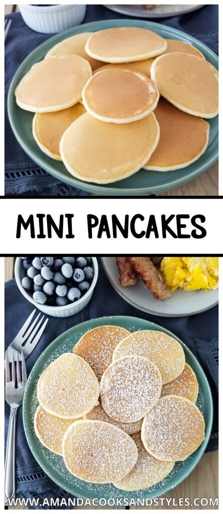 mini pancakes recipe