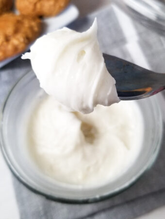 2 ingredient cream cheese frosting