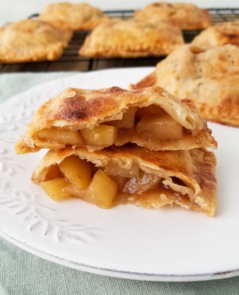Hand Held Apple Pies   Amanda Cooks & Styles