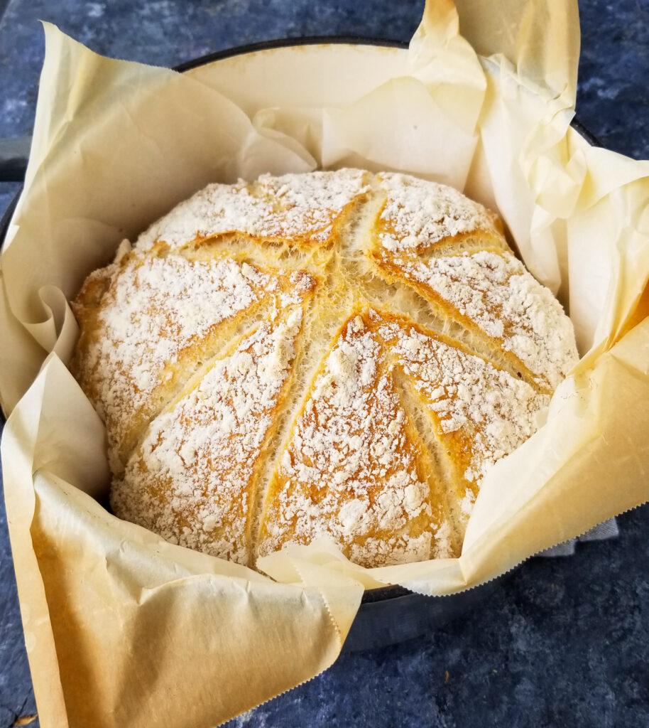 dutch oven rustic bread