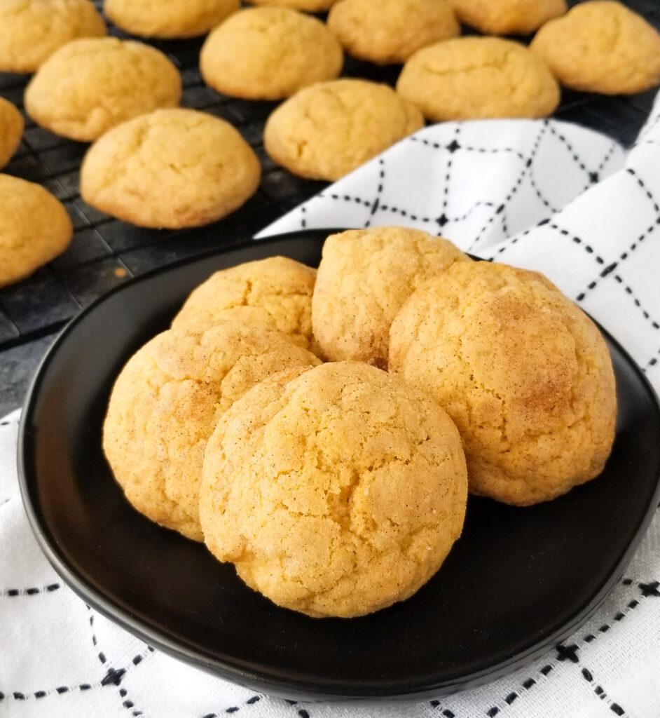 pumpkin spice muffin cookies