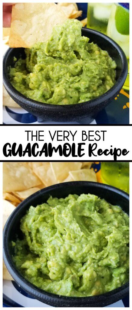 authentic guacamole