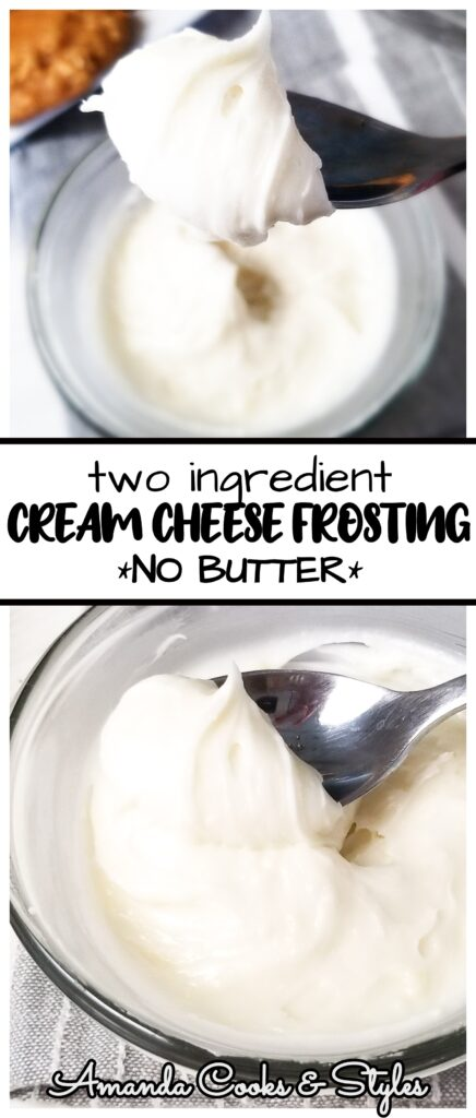 pinterest image cream cheese frosting