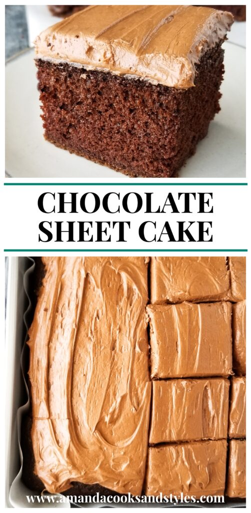 pinterest chocolate sheet cake