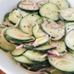 creamy asian cucumber salad