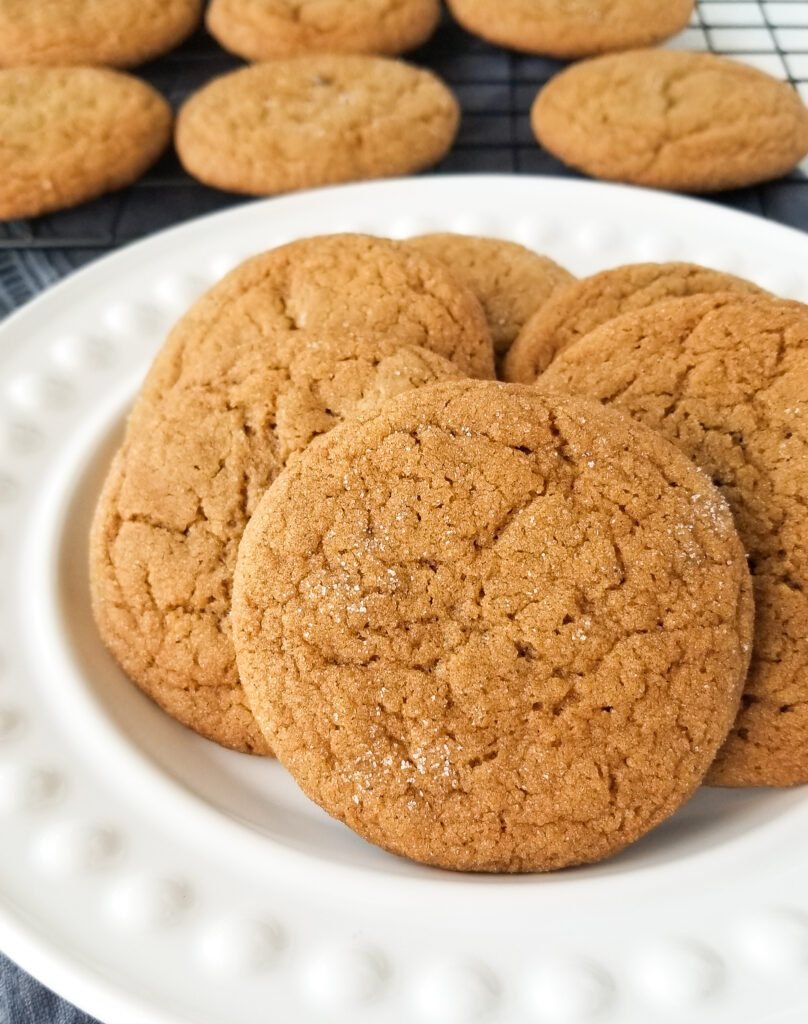 christmas molasses cookies