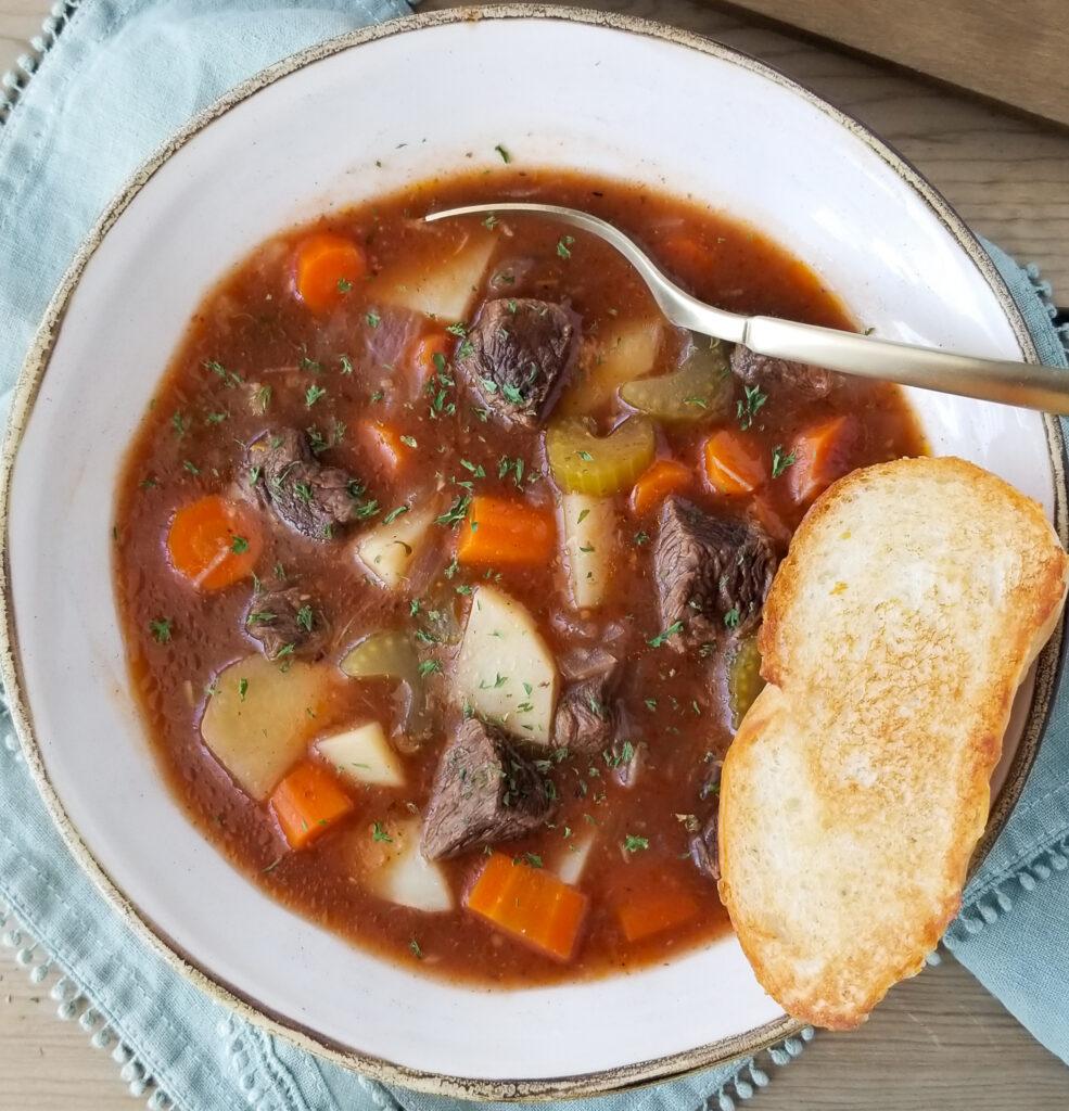 tri tip beef stew