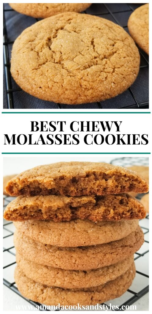 pinterest chewy molasses cookies