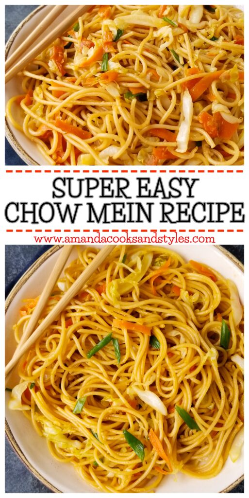 pinterest easy chow mein
