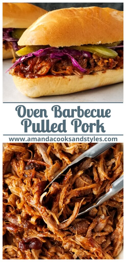 oven bbq pulled pork recipe