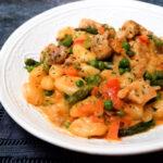 spicy chicken chipotle gnocchi