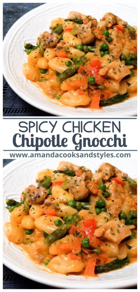 pinterest spicy chicken chipotle gnocchi