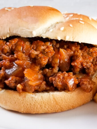 sloppy joe sandwiches
