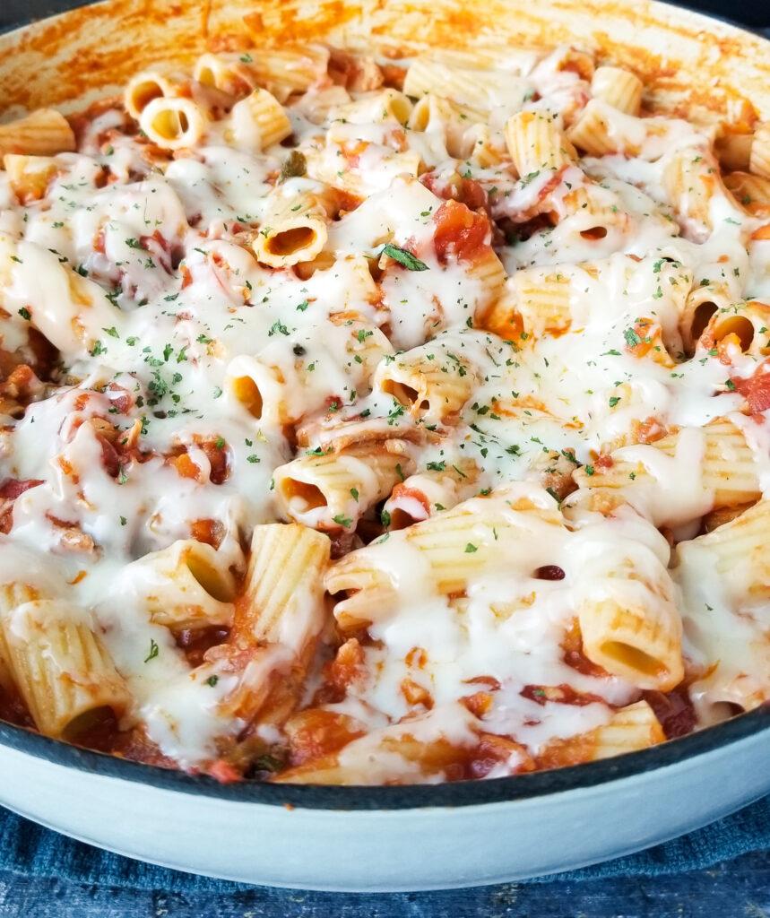 best chicken parmesan pasta