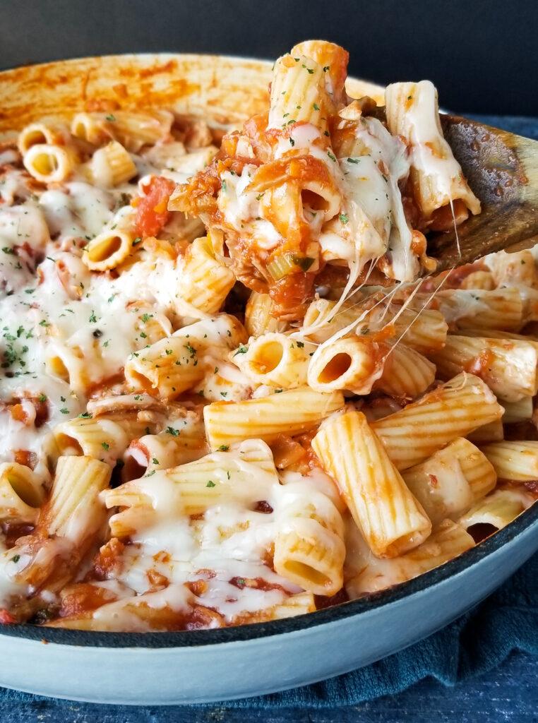 one pot chicken parmesan