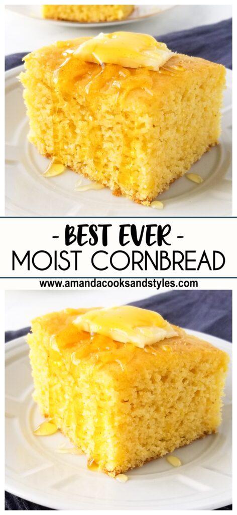 pinterest image best cornbread