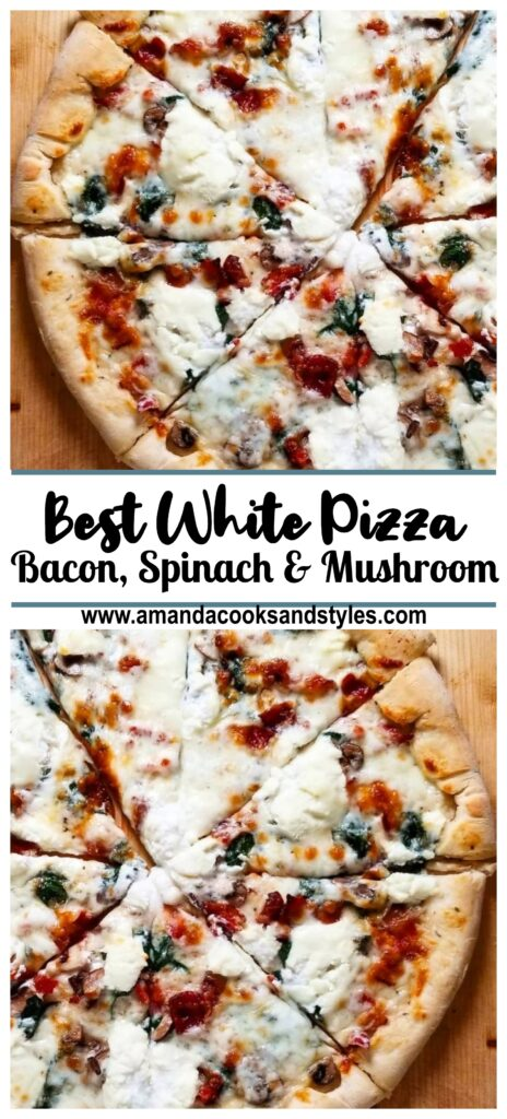 pinterest best white pizza ever