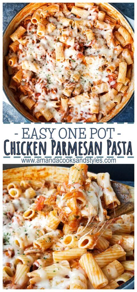 pinterest chicken parmesan pasta