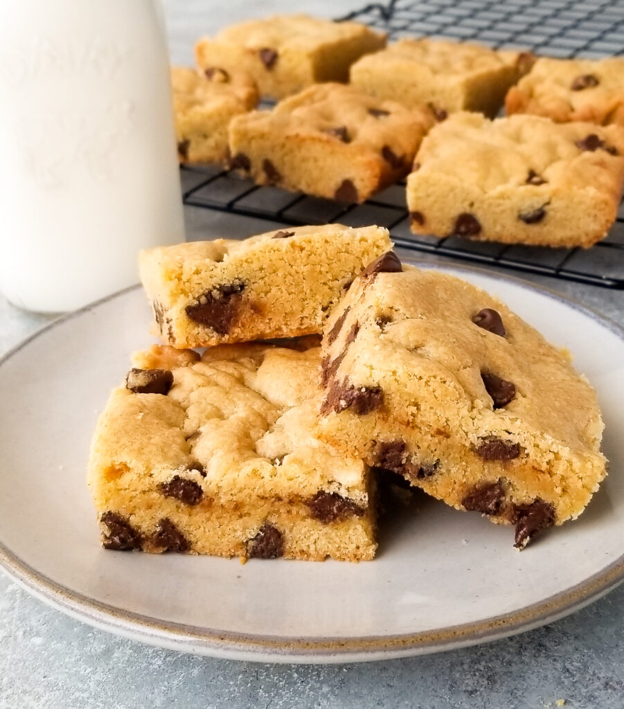 easy chocolate chip cookie bars