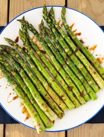 balsamic glazed asparagus