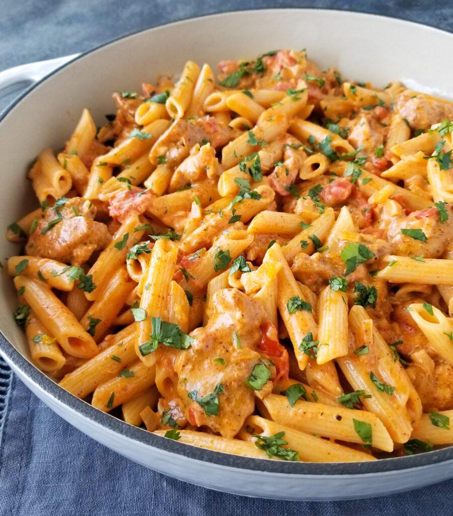 southwest chicken pasta