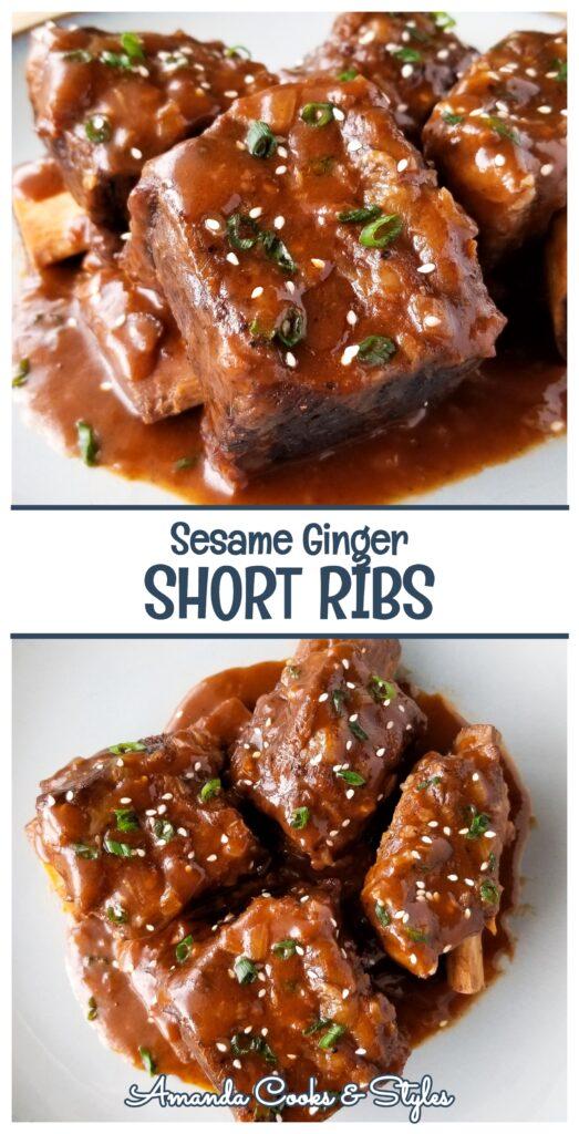 pinterest sesame ginger short ribs