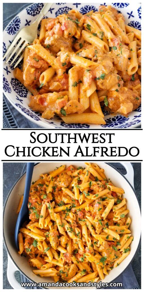 pinterest southwest chicken alfredo