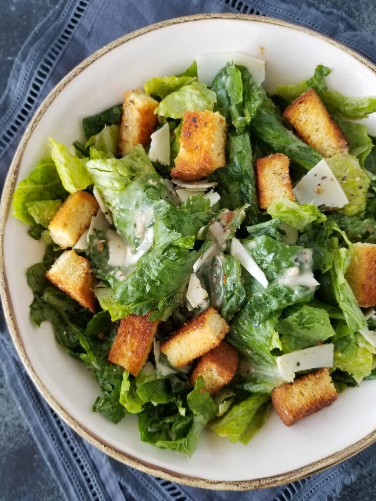 simple caesar salad