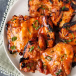 grilled honey buffalo chicken thighs