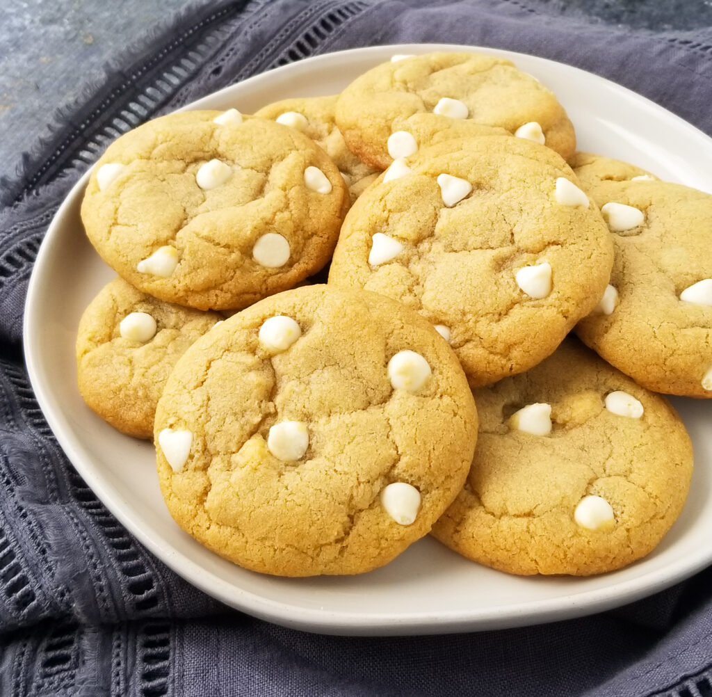 best ever white chocolate chip cookies