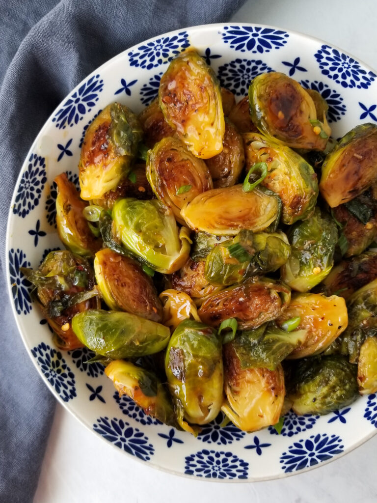 teriyaki brussel sprouts