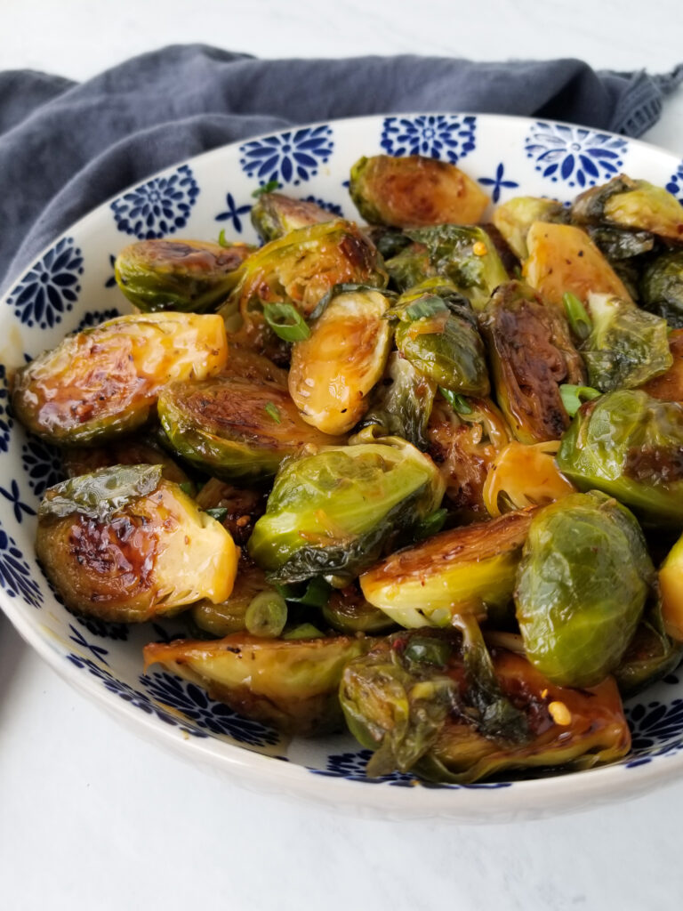best ever asian brussels sprouts
