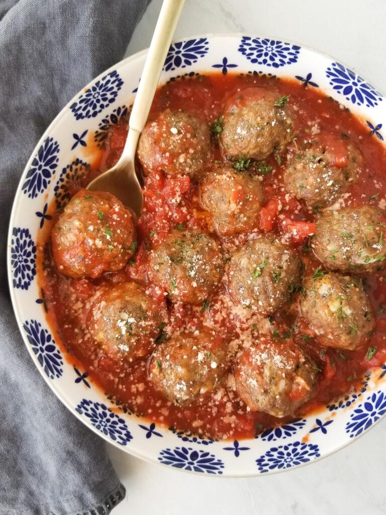 best baked meatballs