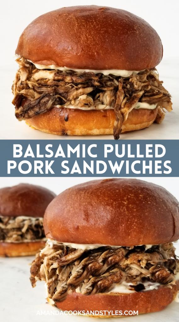 best pulled pork sandwiches pinterest image